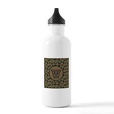 Geek Camouflage Monogram Water Bottle
