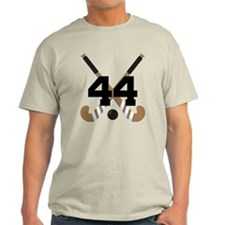Field Hockey Number 44 T-Shirt