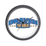 The Great Draven Wall Clock