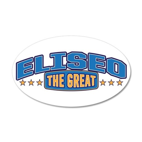 The Great Eliseo Wall Decal