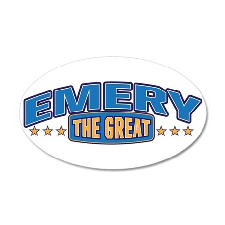 The Great Emery Wall Decal