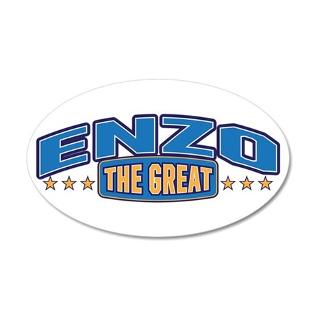 The Great Enzo Wall Decal