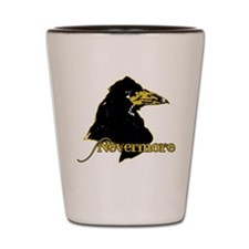 Poe's Raven by Manet Shot Glass
