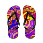 Flip Flops Abstract Painting