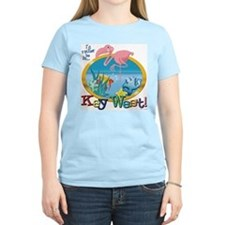 Key West Women's Pink T-Shirt
