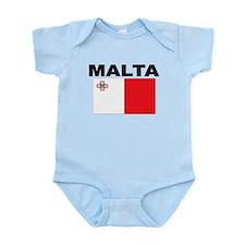 Malta Flag Body Suit