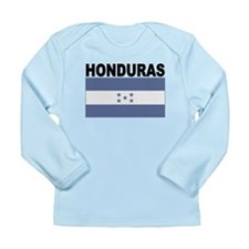 Honduras Flag Long Sleeve T-Shirt