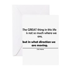 The Great thing in this life Greeting Cards (Pk of
