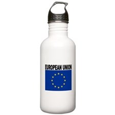 European Union Flag Water Bottle