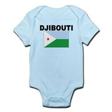 Djibouti Flag Body Suit