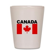 Canada Flag Shot Glass