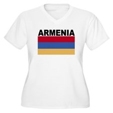 Armenia Flag Plus Size T-Shirt