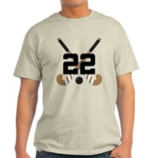Field Hockey Number 22 T-Shirt