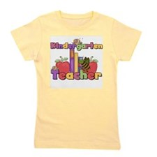 kindergartenappletteacher.png Girl's Tee