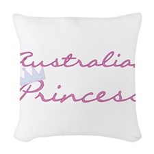 craustralianprincess.png Woven Throw Pillow