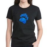 BLUE BEAR PAW Tee
