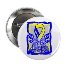 "Down Syndrome Awareness Hope 2.25"" Button (10 pack"