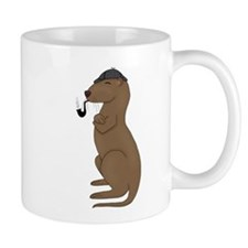 Otterlock Thinking Mug