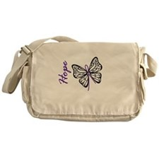 Hope Butterfly Messenger Bag