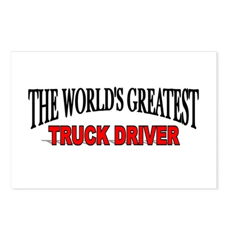 """The World's Greatest Truck Driver"" Postcards (Pac"