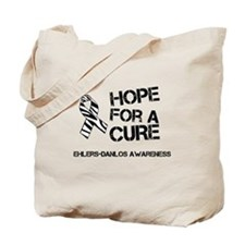 Ehlers Danlos Hope For A Cure Zebra Ribbon Tote Ba