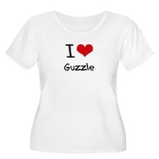 I Love Guzzle Plus Size T-Shirt