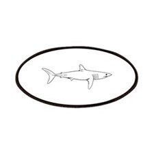 Shortfin Mako Logo Patches
