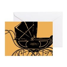 Vintage Baby Carriage Greeting Cards (Pk of 20)