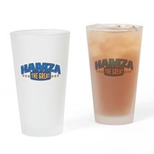 The Great Hamza Drinking Glass