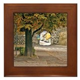 Austrian Village Framed Tile