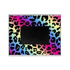 Neon Leopard Print Picture Frame
