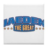 The Great Jaeden Tile Coaster