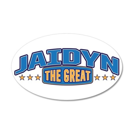 The Great Jaidyn Wall Decal