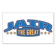 The Great Jair Decal
