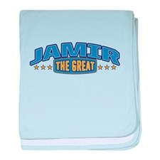 The Great Jamir baby blanket
