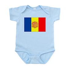 Andorra Flag Body Suit