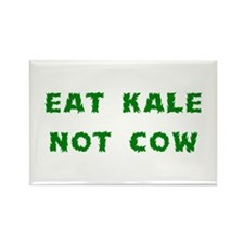 Eat Kale Not Cow Rectangle Magnet