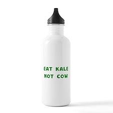 Eat Kale Not Cow Water Bottle