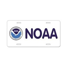 Funny National weather service Aluminum License Plate