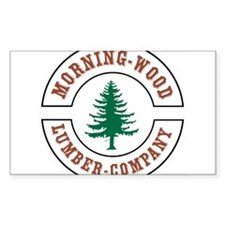 Morning Wood Lumber Company Decal
