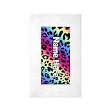 Neon leopard 3x5 Rugs