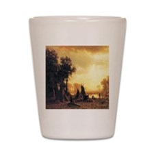 Yosemite Indian Encampment Shot Glass