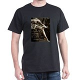 Marlene Dietrich Quote Military Green T-Shirt