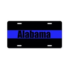 Alabama Poice Aluminum License Plate
