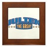 The Great Julien Framed Tile