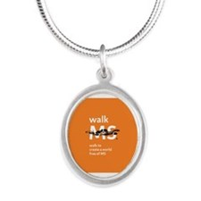 Orange- Walk MS Necklaces