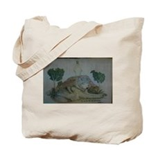 """The Wolf and the Lamb"" Tote Bag"