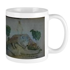 """The Wolf and the Lamb"" Mug"