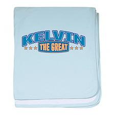 The Great Kelvin baby blanket