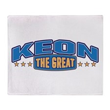 The Great Keon Throw Blanket